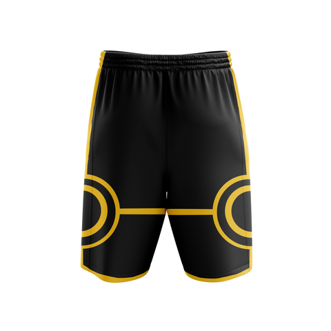 Image of Naruto Six Paths Sage Mode (Black) Beach Short