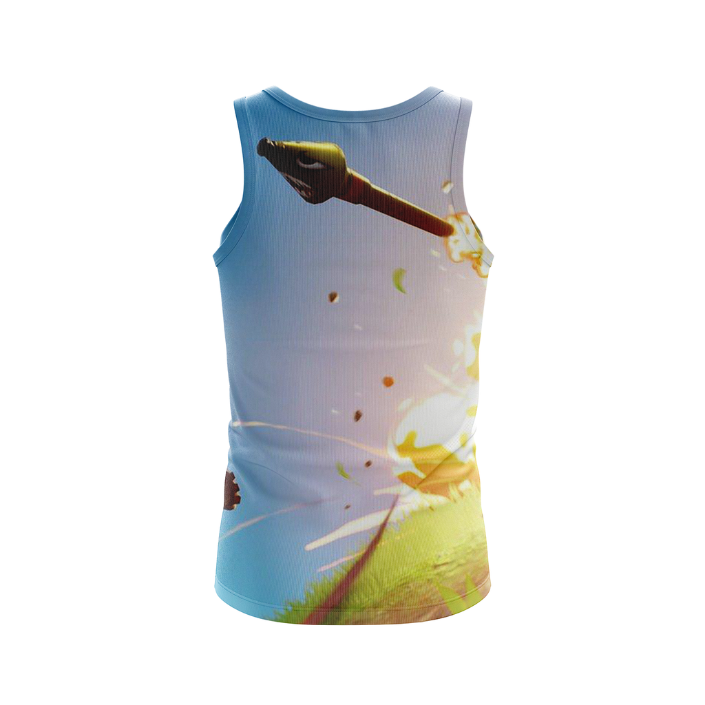 Fortnite Survivalist Jonesy Skin 3D Tank Top
