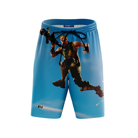 Image of Fortnite Survivalist Jonesy Skin Beach Short