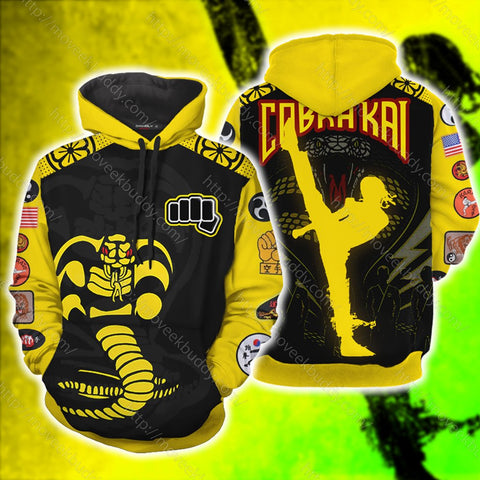 The Karate Kid Cobra Kai 3D Hoodie