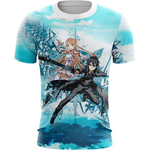 Image of Sword Art Online Unisex 3D T-shirt
