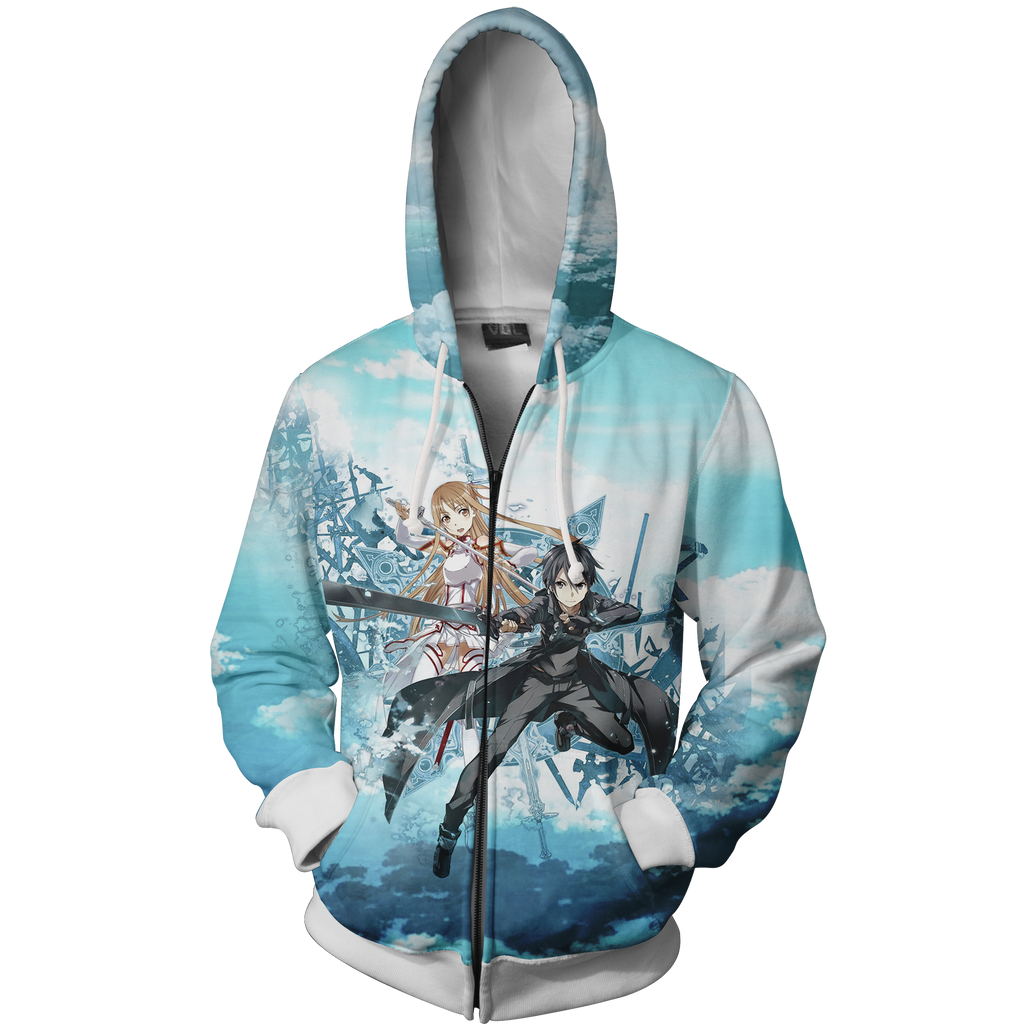 Sword Art Online Zip Up Hoodie