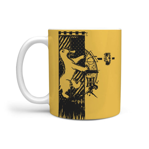Image of Harry Potter Hogwarts Hufflepuff House Mugs
