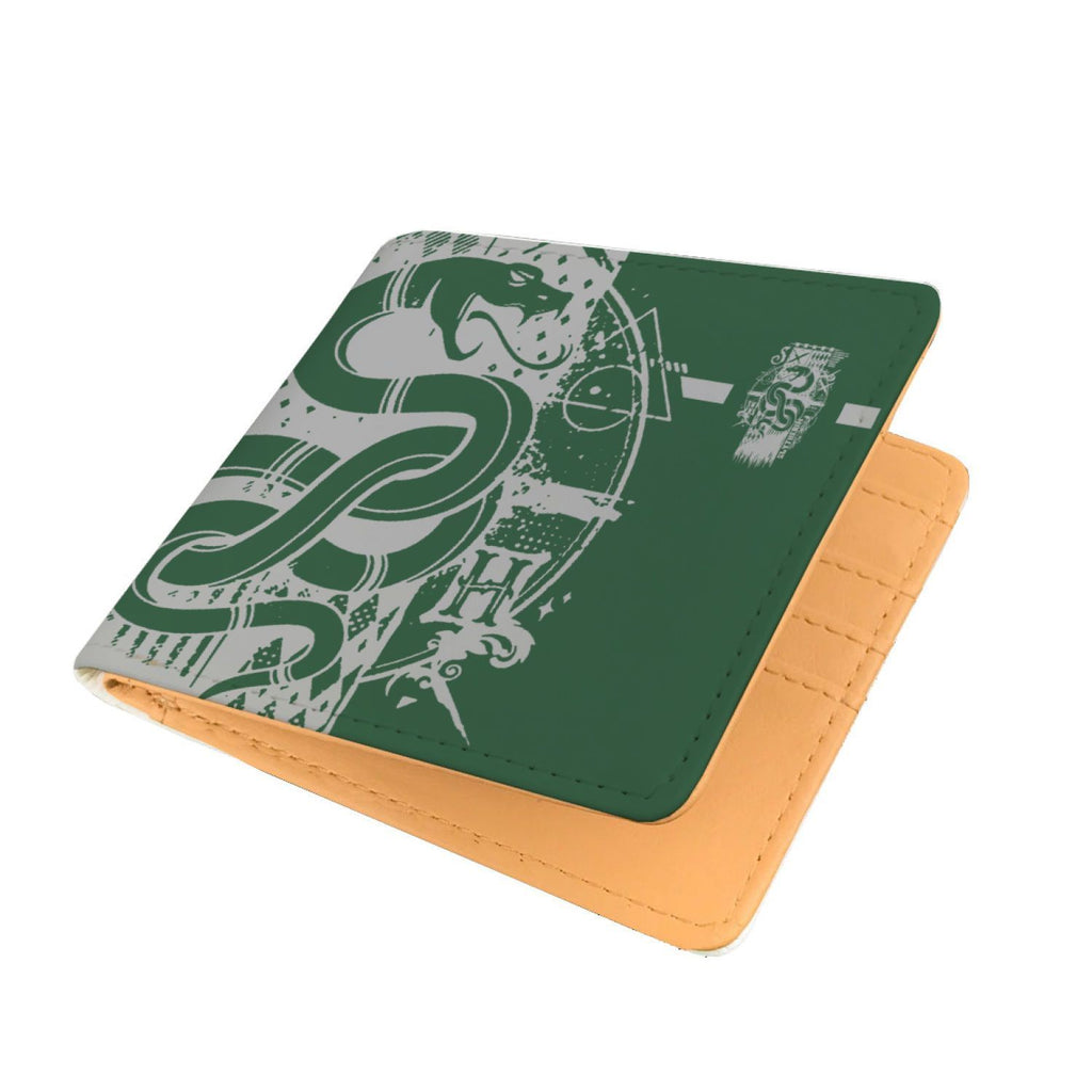 Harry Potter Hogwarts Slytherin House Mens Wallet