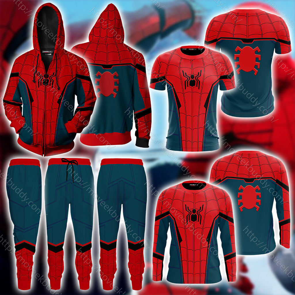 Spider-Man: Far From Home 2019 Cosplay Jogging Pants