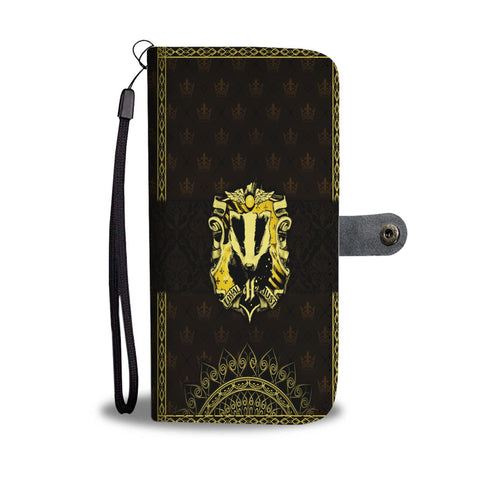 Mandala Hufflepuff Harry Potter Wallet Case