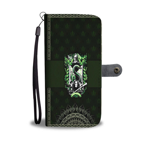 Mandala Slytherin Harry Potter Wallet Case
