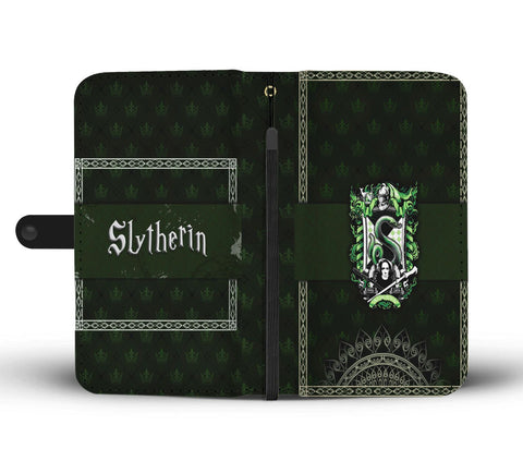 Image of Mandala Slytherin Harry Potter Wallet Case