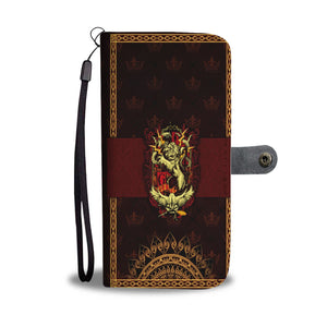 Mandala Gryffindor Harry Potter Wallet Case