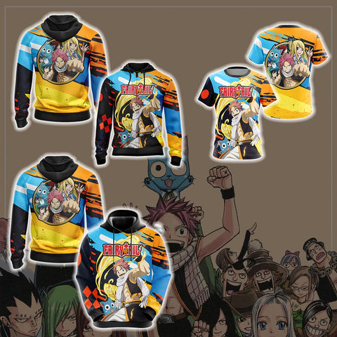 Fairy Tail New  Version Unisex 3D T-shirt