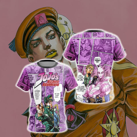 Jojo's Bizarre Adventure New Look Unisex 3D T-shirt