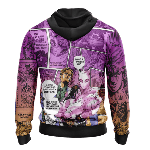Jojo's Bizarre Adventure New Look Unisex 3D Hoodie