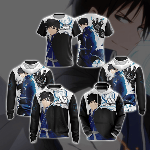 Image of Fullmetal Alchemist - Roy Mustang New Style Unisex 3D T-shirt