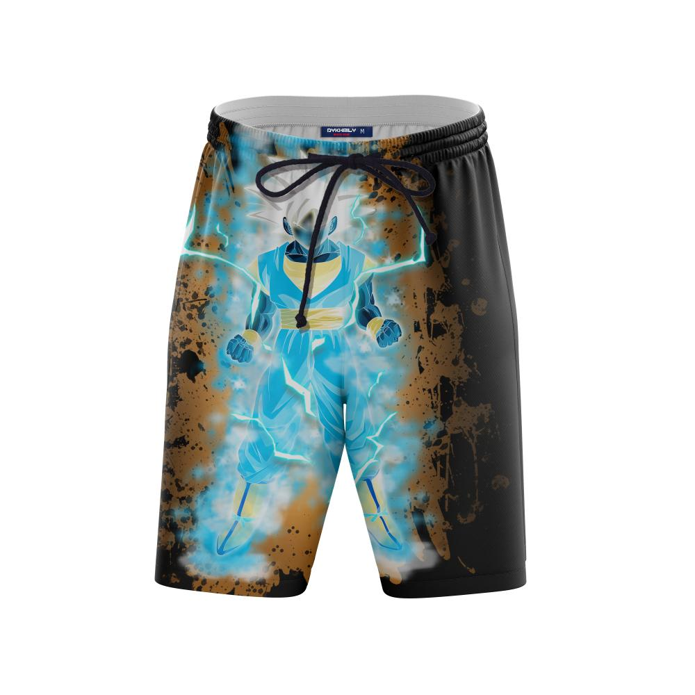 Dragon Ball Songoku Super Saiyan Blue Beach Short