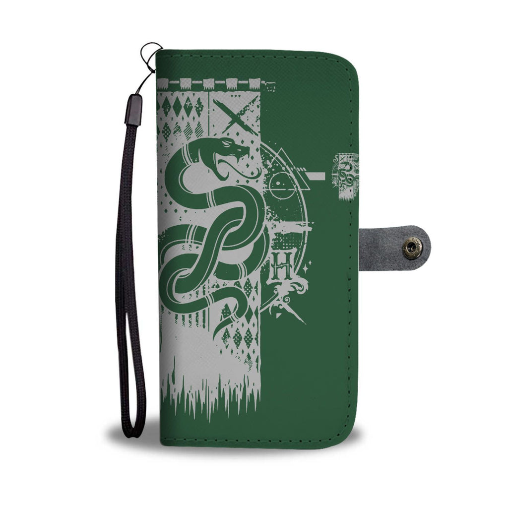 Quidditch Slytherin Harry Potter Wallet Case