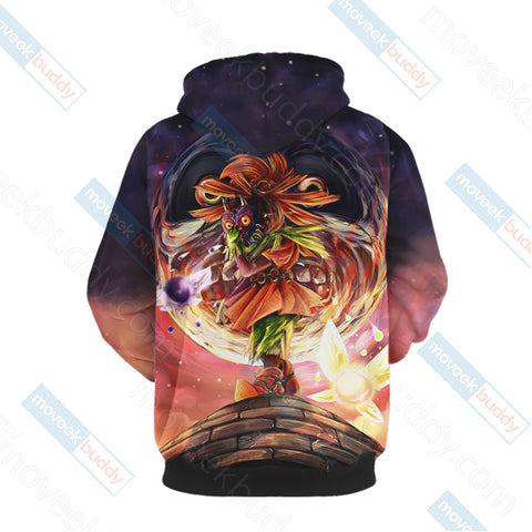 Image of The Legend Of Zelda Skull Kid 3D Hoodie