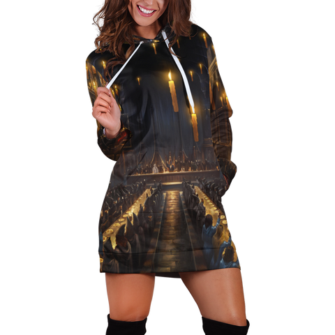 The Great Hall Harry Potter 3D Hoodie Dress