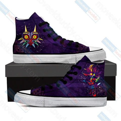 The legend of Zelda: Majora's New Style High Top Shoes