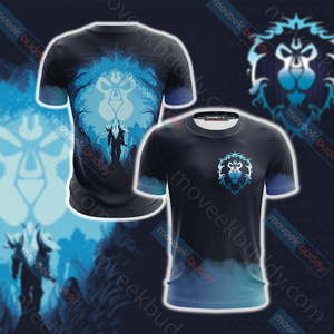 World Of Warcraft - Alliance Unisex 3D T-shirt
