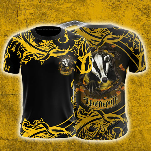 Loyal Like A Hufflepuff Harry Potter Unisex 3D T-shirt