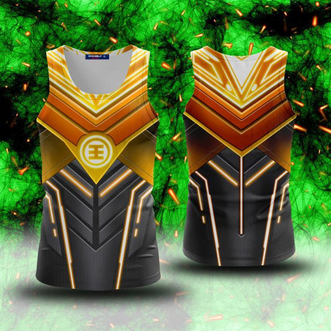 Power Ranger ZEO Cosplay 3D Tank Top