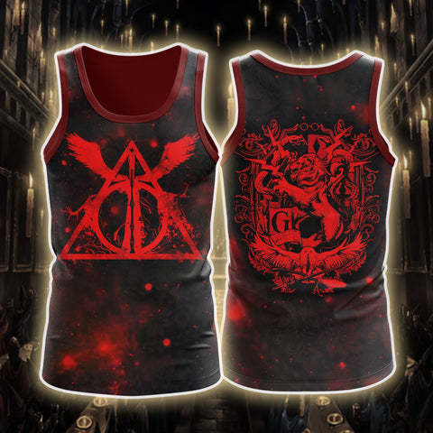 Image of The Gryffindor Lion Harry Potter 3D Tank Top