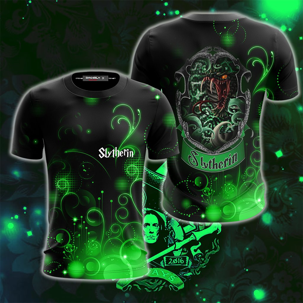 The Cunning Slytherin Harry Potter New Collection Unisex 3D T-shirt