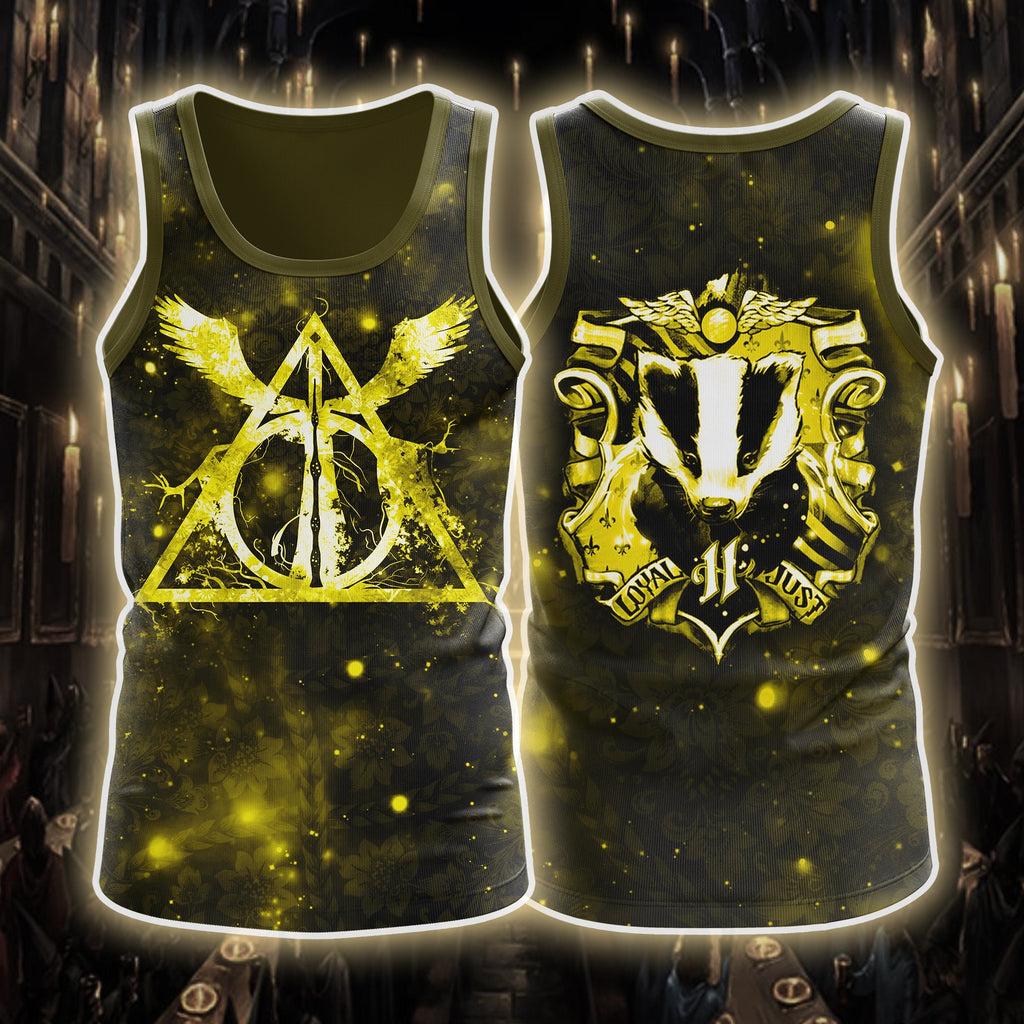 Harry Potter Houses 3D Tank Top
