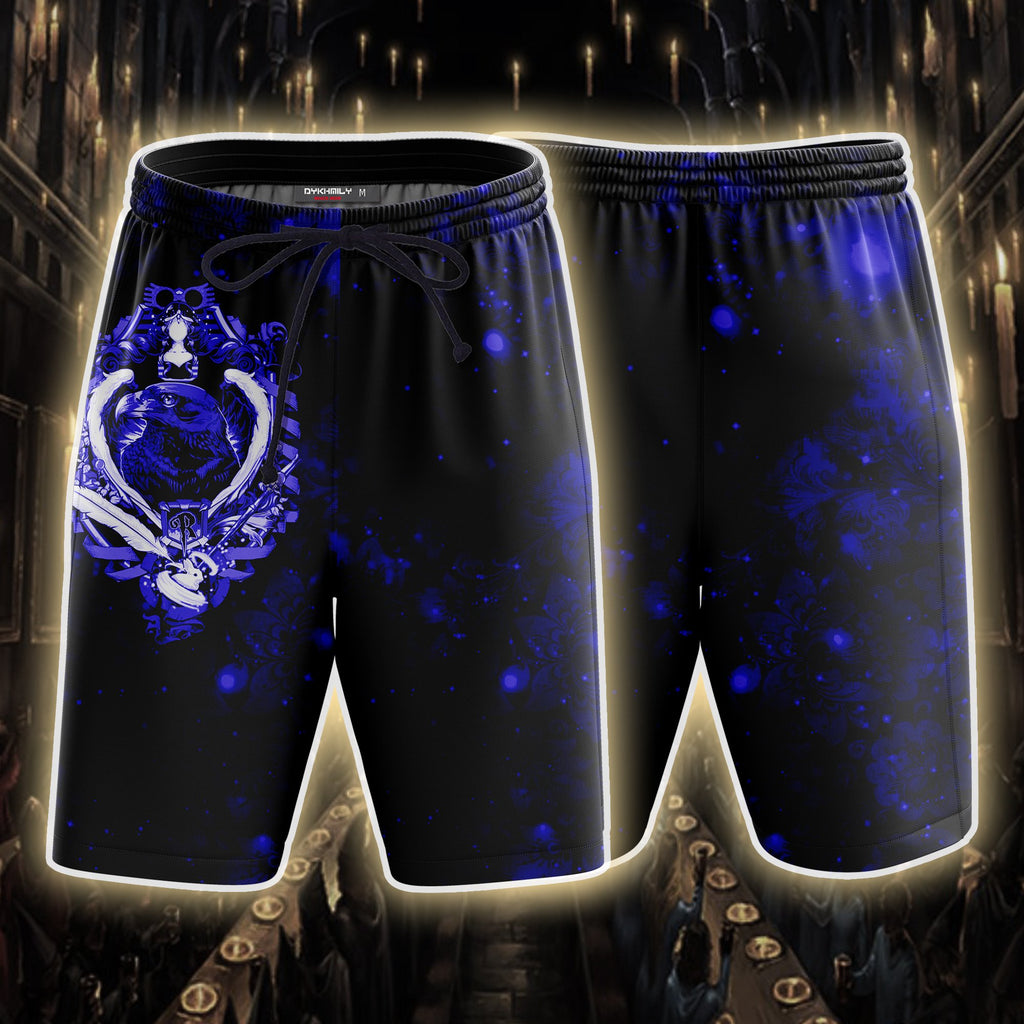 Ravenclaw Hogwarts Houses Harry Potter Beach Short
