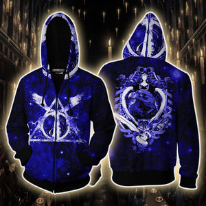 The Ravenclaw Eagle (Harry Potter) 3D Zip Up Hoodie