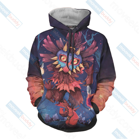 The Legend Of Zelda Skull Kid 3D Hoodie