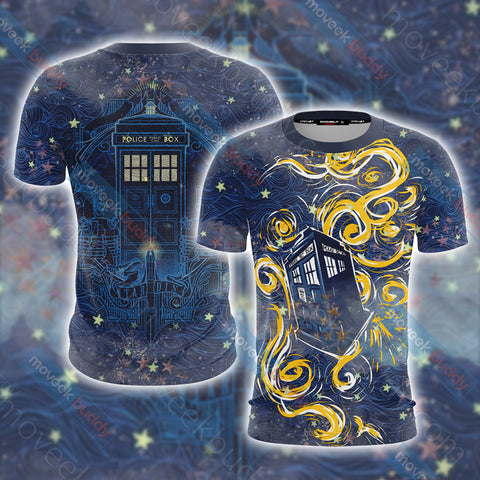 Image of Doctor Who - Tardis Unisex 3D T-shirt
