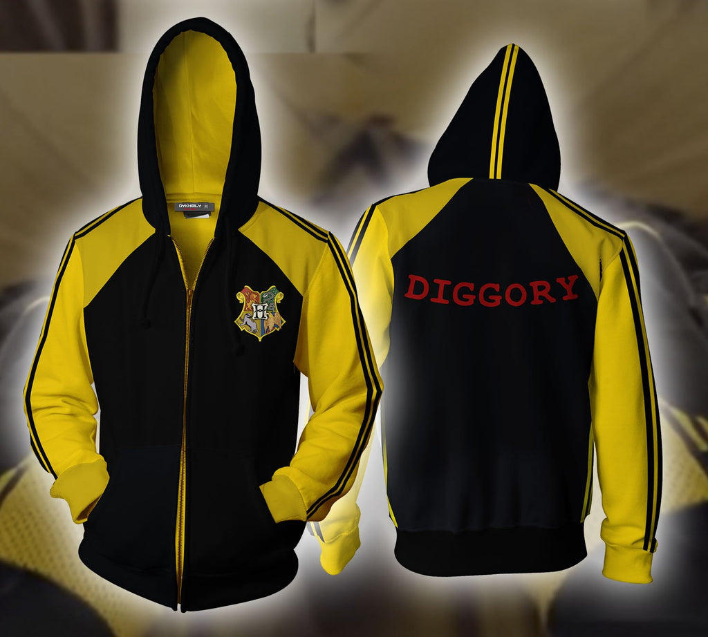 Harry Potter Triwizard Tournament (Diggory) Zip Up Hoodie