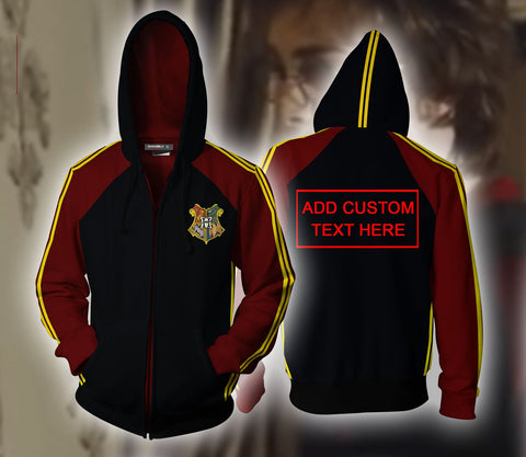 Harry Potter Triwizard Tournament Potter (Custom) Zip Up Hoodie
