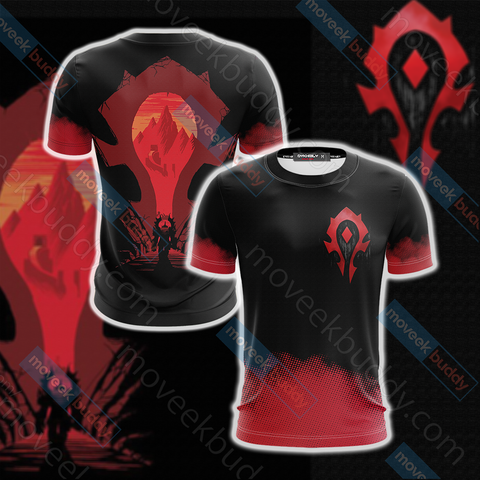 World Of Warcraft - Horde Unisex 3D T-shirt
