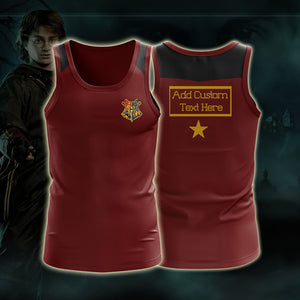 Harry Potter Triwizard Tournament Potter (Custom) 3D Tank Top