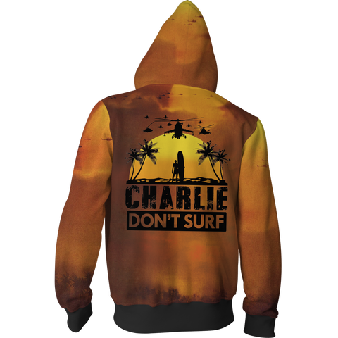 Image of Apocalypse Now Zip Up Hoodie Jacket