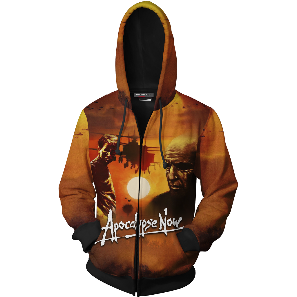 Apocalypse Now Zip Up Hoodie Jacket