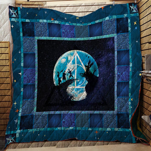 The Tale Of The Three Brothers Harry Potter 3D Quilt Blanket
