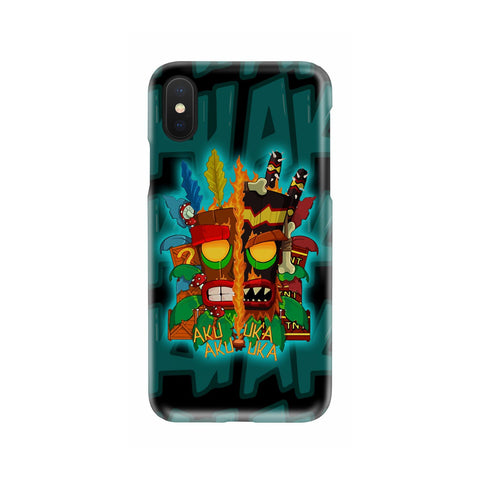 Image of Crash Bandicoot Aku Aku Phone case