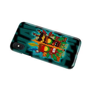 Crash Bandicoot Aku Aku Phone case