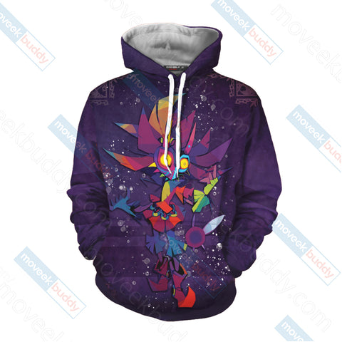 Image of The legend of Zelda: Majora's New Style 3D Hoodie
