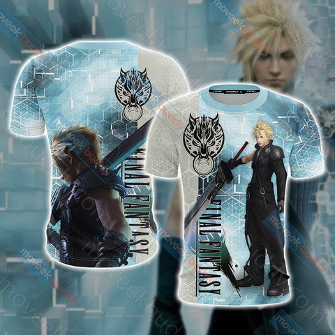 Image of Final Fantasy - Cloud Unisex 3D T-shirt