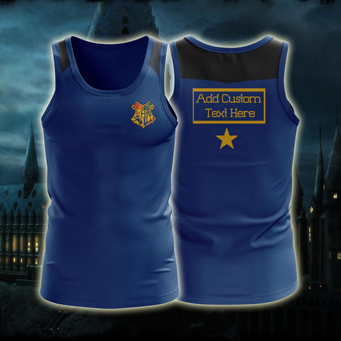 Ravenclaw Triwizard Tournament Harry Potter (Customized Name) 3D Tank Top