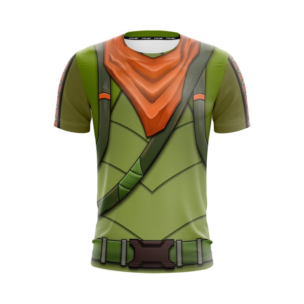 Fortnite Legendary Rex Skin Unisex 3D T-shirt