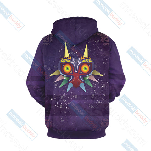 The legend of Zelda: Majora's New Style 3D Hoodie