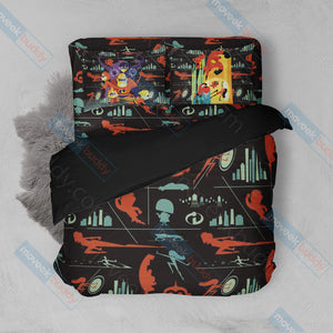 The Incredibles 3D Bed Set