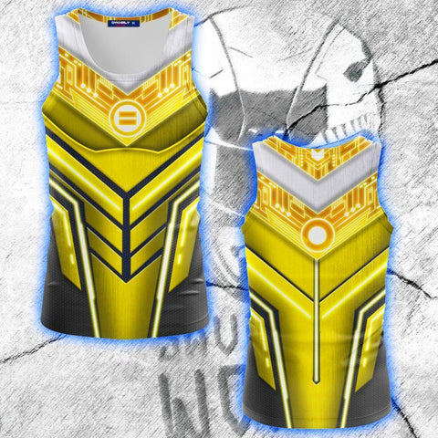 Image of Power Ranger ZEO Cosplay 3D Tank Top