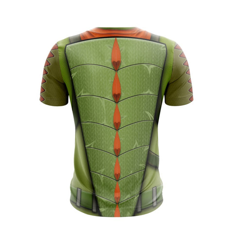 Image of Fortnite Legendary Rex Skin Unisex 3D T-shirt