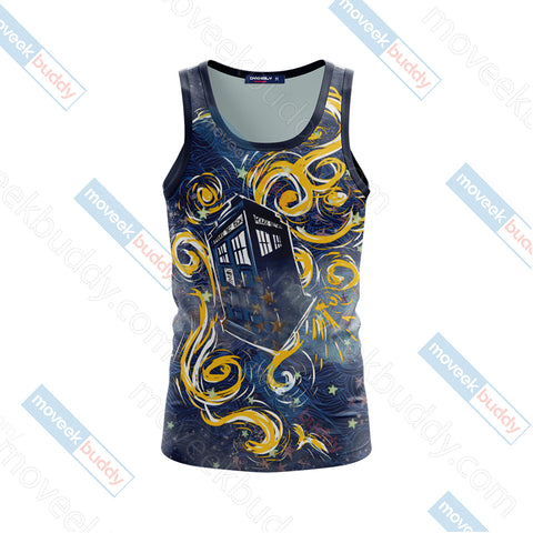 Doctor Who - Tardis Unisex 3D Tank Top